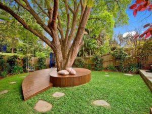 Amazing Seat Around Tree
