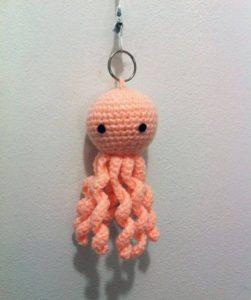 Crochet Starfish Key Ring