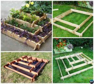 DIY Step by Step Raised Garden Bed