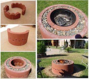 DIY Stones Fire Pit