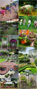 Easy and Cheap DIY Garden Art Projects To Dress Up Your Garden