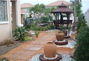 Garden Decor Idea with Stones