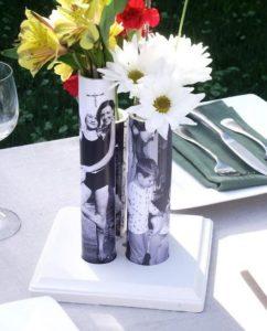 PVC Pipe Flower Vase