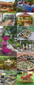 Pretty Wonderful DIY Garden Decor Ideas
