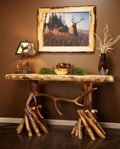 Rustic Entryway Table