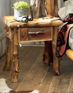 Rustic Side Table or End Table