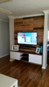 Wood Pallet Wall Paneling