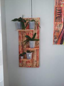 Wood Pallet Wall Shelf