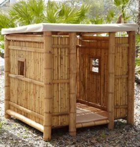 Bamboo Garden Shed