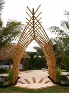 Bamboo Gazebo Idea
