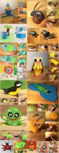 Easy Paper Craft Ideas for Kids with DIY Tutorials