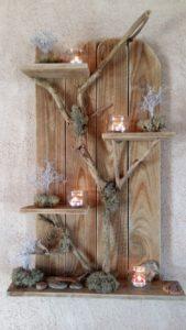 Pallet Wall Decor Shelf