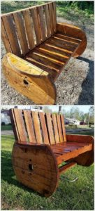 Pallet and Cable Reel Bench