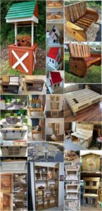 Recycled Wooden Pallet Projects to do this Weekend
