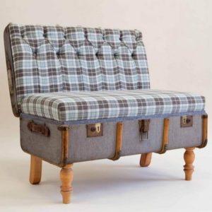Vintage Suitcase Modern Chair