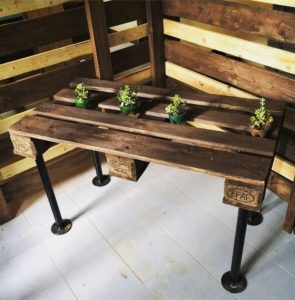 Wooden Pallet Meeting Table