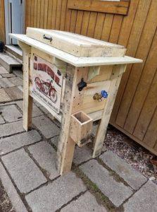 Wooden Pallets Cooler