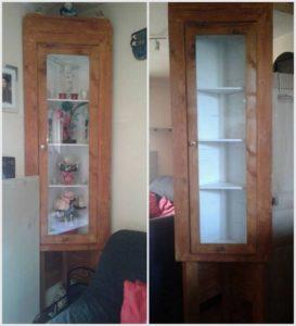 Wooden Pallets Cupboard