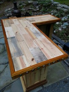 Pallet Counter Table Top