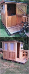 Pallet Kids Playhouse or Garden Cabin
