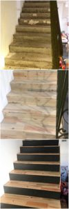 Wood Pallet Stairs