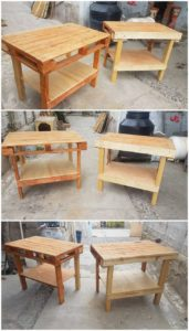 Wood Pallet Tables
