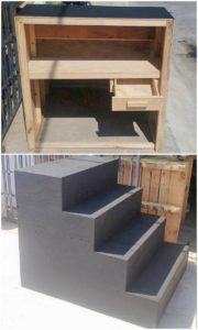Pallet Stairs or Table