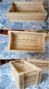 Pallet Storage Tray Box