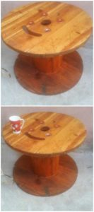 Pallet and Cable Reel Round Table
