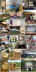 Awesome Ideas of DIY Wooden Pallets That Are Easy to Make