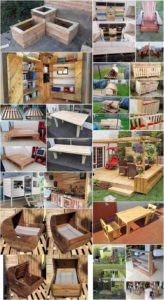 Genius Ideas to Reuse Old Shipping Wooden Pallets