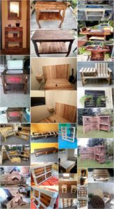 Imaginative DIY Ideas for Reusing Old Wooden Pallets