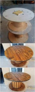 Pallet Cable Reel Round Table