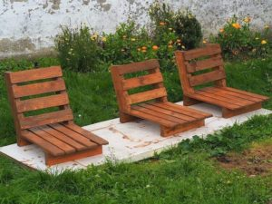 Pallet Lounge Chairs