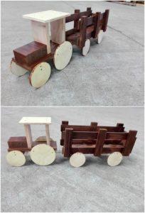 Pallet Train for Kids