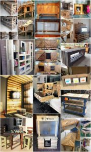 Unique and Brilliant Ways to Recycle Old Wood Pallets