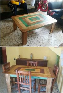 Pallet Coffee Table and Dining Table