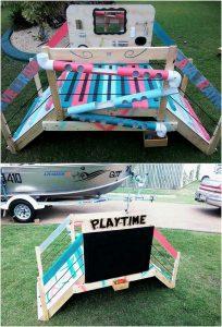 Pallet Playtime Bridge for Kids