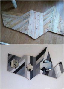 Pallet Wall Decor Idea