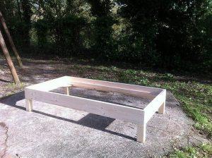 DIY Wood Pallet Bunk Bed