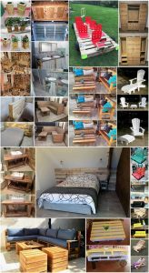 Ingenious Ideas to Recycle Old Wood Pallets