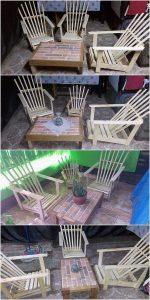 Pallet Adirondack Chairs