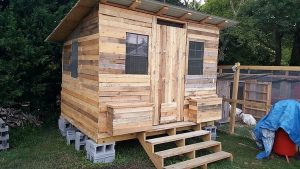 Pallet Garden Shed or House