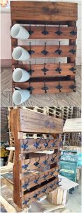 Pallet Kitchen Shelf or Rack