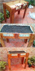 Pallet Planter or Herb Garden