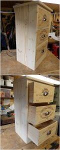 Pallet Small Chest of Drawers
