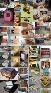 Amazing DIY Ideas to Make Unique Furniture with Recycled Wood Pallets