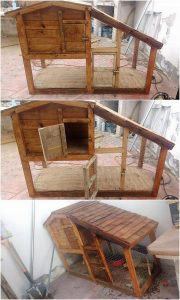 Pallet Chicken Coop or Rabbit Hutch