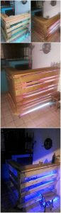 Pallet Counter with Lights