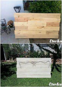 Pallet Wall Decor Creation